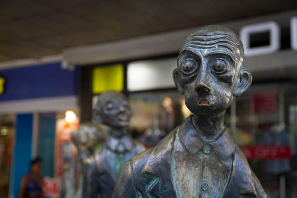 Estatuas en Melbourne