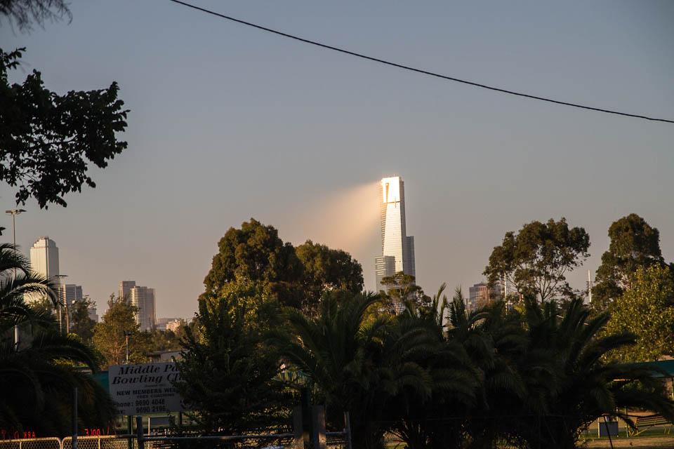 Rayo luz Melbourne
