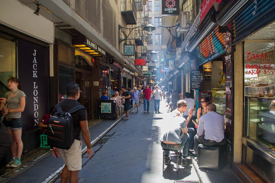 Calle comercial Melbourne