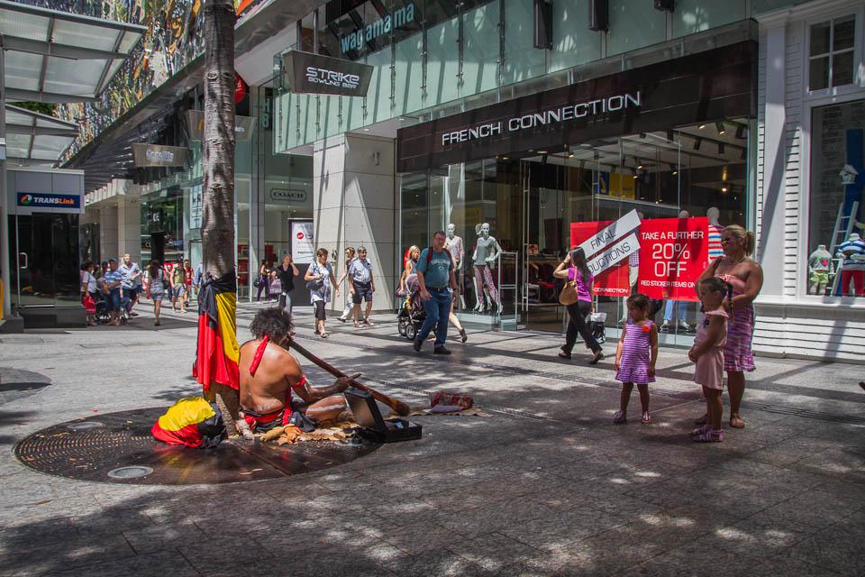 Indígena en la calle