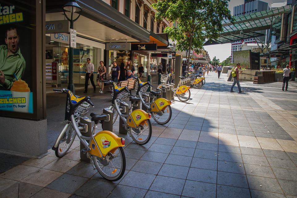 Bicicletas en Brisbane