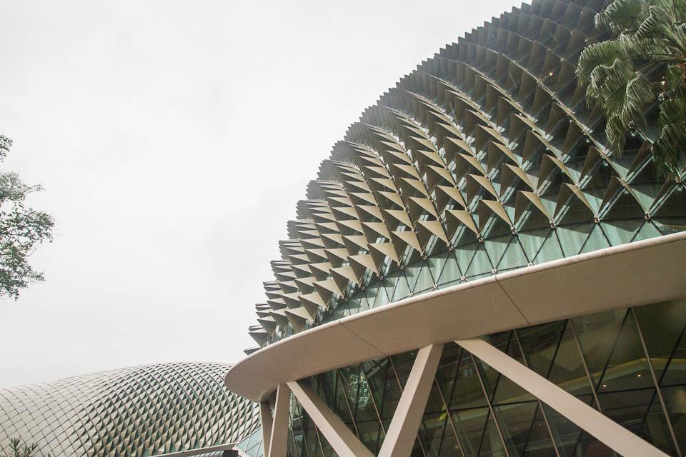 Edificio inspirado Durián.