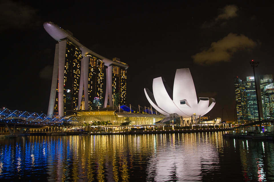 Singapur de noche