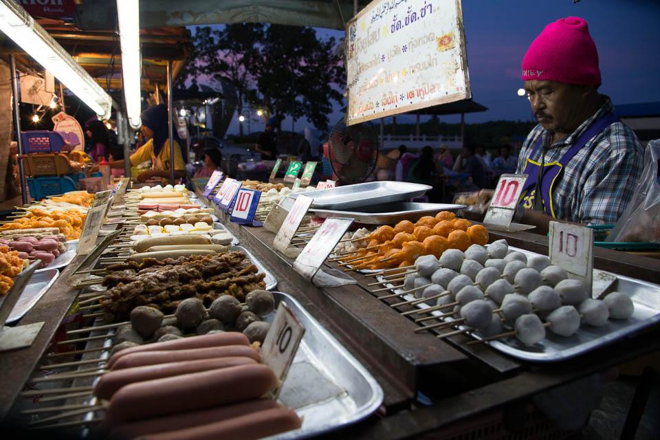 Mercado nocturno.