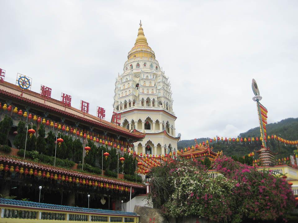 Torre en templo Georgetown.