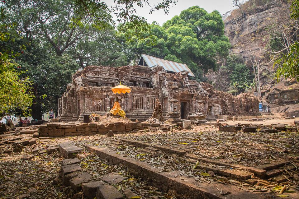 Templo en Vat Phu.