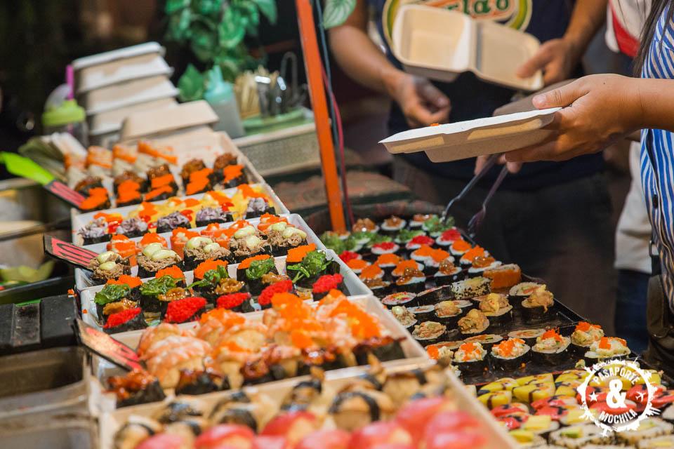 ¡Más sushi!