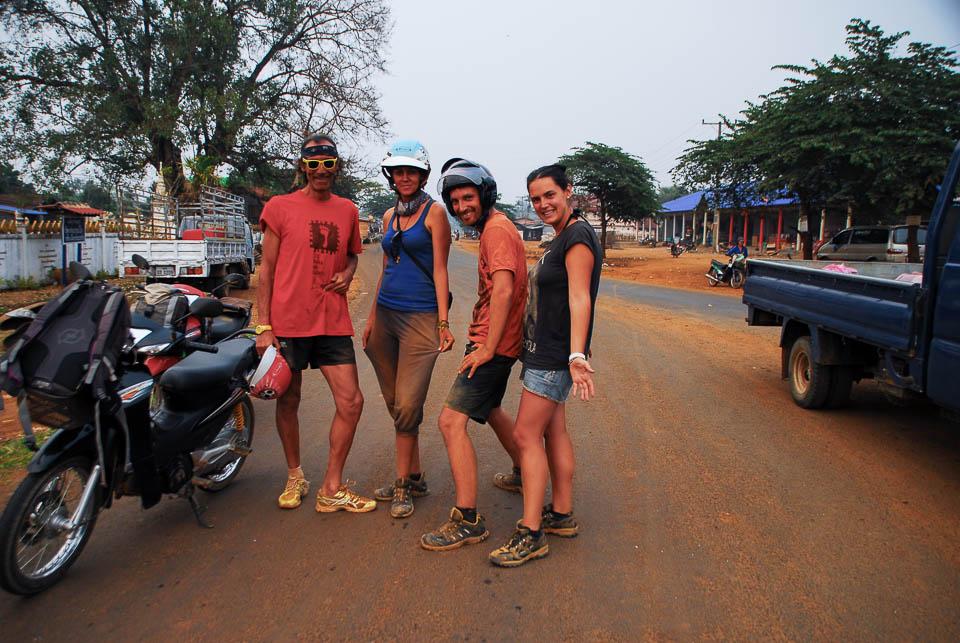 Después de ruta con arena.