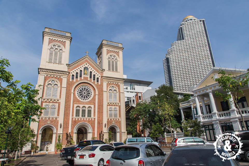 Iglesia católlica y torre