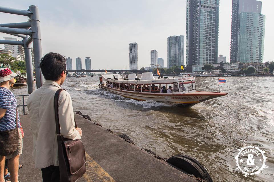 Moviéndose en barca