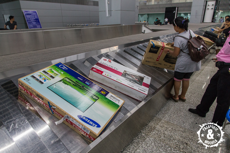 Teles en aeropuerto