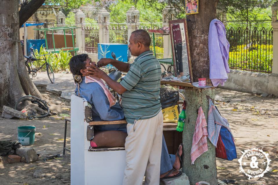 Barbero callejero