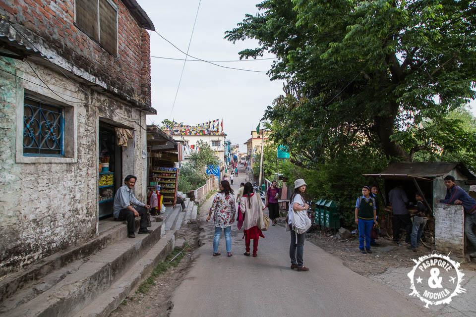 Calle principal en Bir