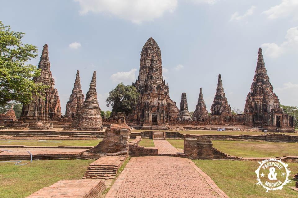 Templo en Ayutthaya.