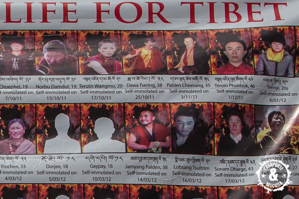 Auto inmolados por Tibet