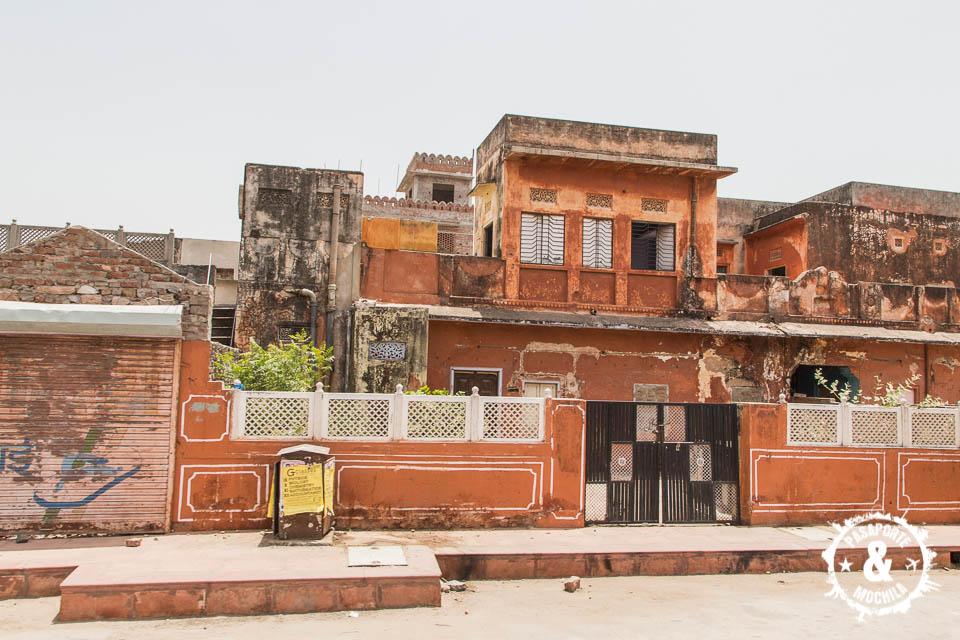 Jaipur, la ciudad rosa.
