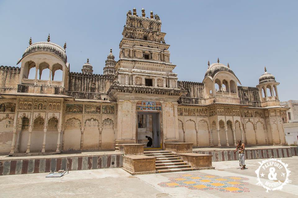 Templo en Pushkar.