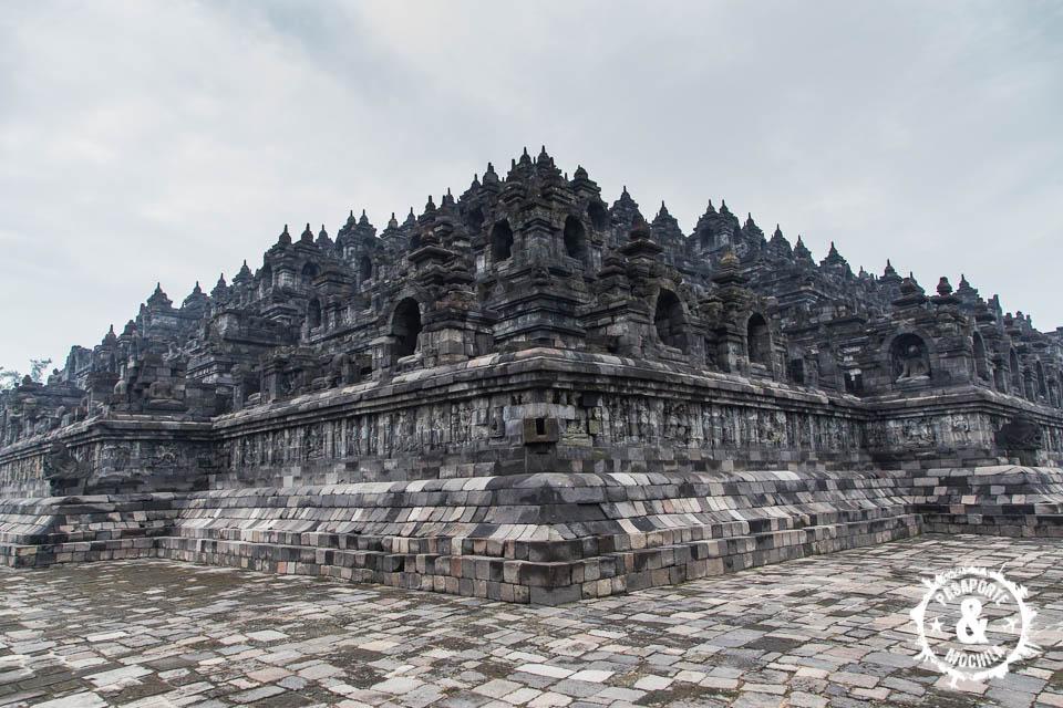 Impresionante Borobudur.
