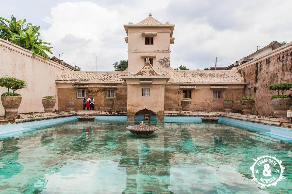 Castillo del agua (Taman Sari)