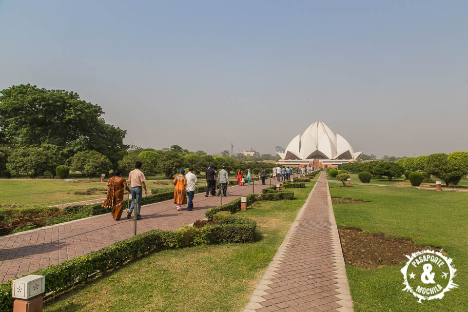 Jardines del Lotus Temple